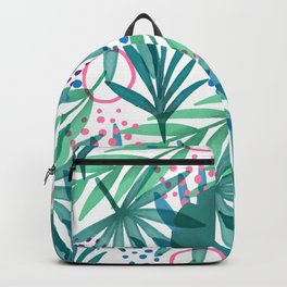 Palm Leaves Drawing Pattern Backpack