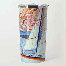 Sailing Okanagan Travel Mug