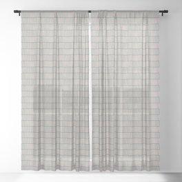 Lines nº03 Sheer Curtain
