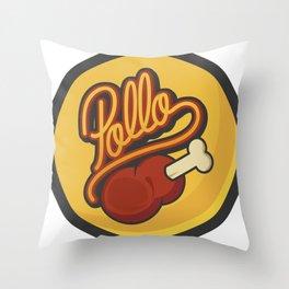 Pollo Throw Pillow