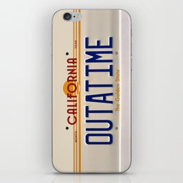 California Out A Time iPhone Skin