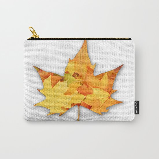 LEAVES IN LEAF Carry-All Pouch