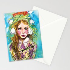 Fashion - Spring is Coming Stationery Cards