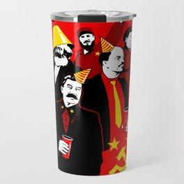 The Communist Party (variant) Travel Mug