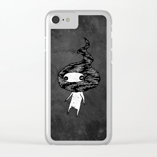 Noisefireboy Clear iPhone Case