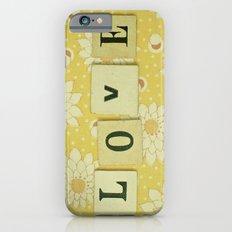 Love No.4 iPhone 6s Slim Case