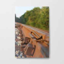 Rusted Path Metal Print