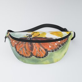 Monarch Butterfly Fanny Pack