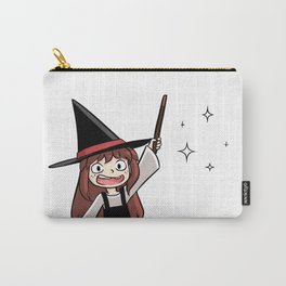 Cute witch girl Carry-All Pouch