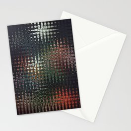 Botanical abstract Stationery Cards