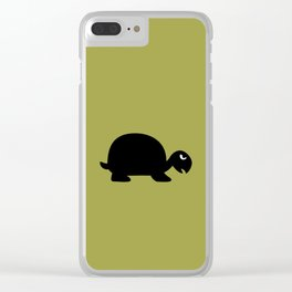 Angry Animals: Tortoise Clear iPhone Case