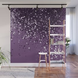 PURPLE Glitter Dream #1 #shiny #decor #art #society6 Wall Mural