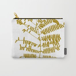 Golden Leaf #Minimal Carry-All Pouch
