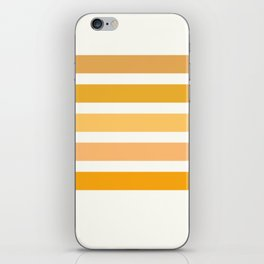 Sunburst Art Print iPhone Skin