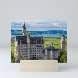 Neuschwanstein Castle - Bavaria - Germanytein Mini Art Print