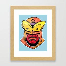 Orange Guy Framed Art Print
