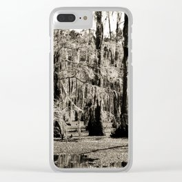 For the Love of Cypress Trees and Swamps Clear iPhone Case