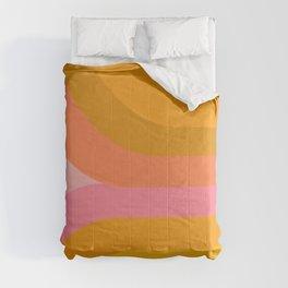 Retro Rainbow 89 Comforters