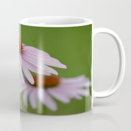 Purple Coneflower Pair - A Butterfly's Best Friend Coffee Mug