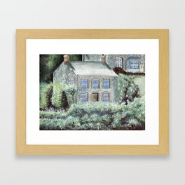 Dr. Martin's House Framed Art Print