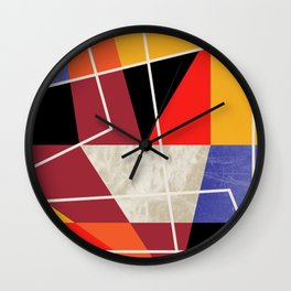 ColorBlock VII Wall Clock