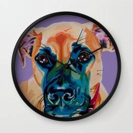 Sweetest Lady Boxer Wall Clock