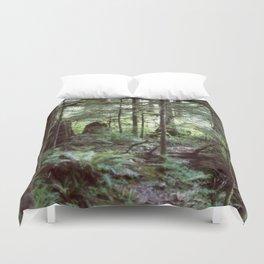 Vancouver Island Rainforest Duvet Cover