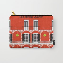 The French Quarter  New Orleans Carry-All Pouch