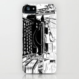 Shakespeare and Company iPhone Case