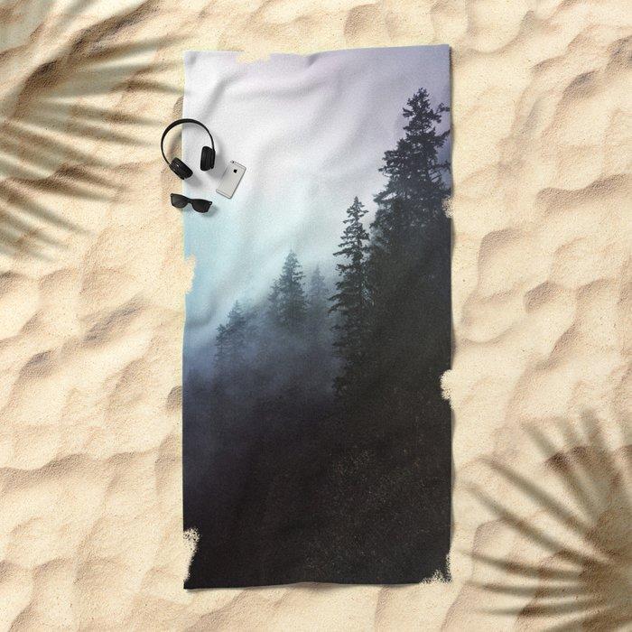 The echos Beach Towel
