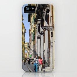 Via del Corso iPhone Case