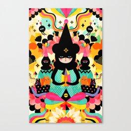 Magical Friends Canvas Print