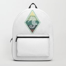 Retro Seahorse Backpack