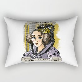 Ada Lovelace Rectangular Pillow