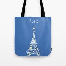 belle à Paris Tote Bag