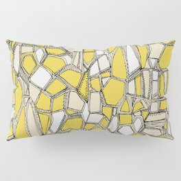 BROKEN POP lemon Pillow Sham
