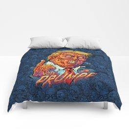 Trump Zombie Comforters
