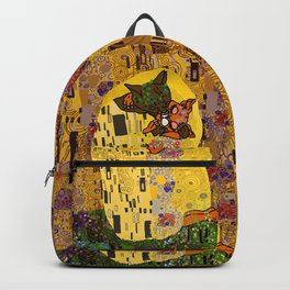Kiss Klimt Cats Backpack