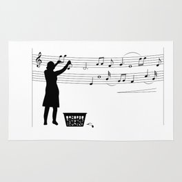 Making music Rug