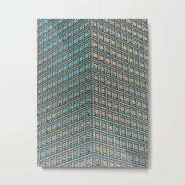 Skyscraper Art Metal Print