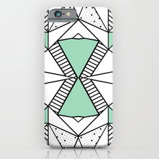Ab Lines and Spots Mint iPhone 6s Slim Case