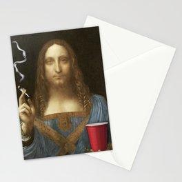Davinci Salvator Munchies Stationery Cards