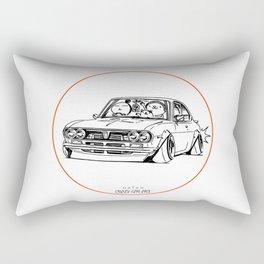Crazy Car Art 0187 Rectangular Pillow