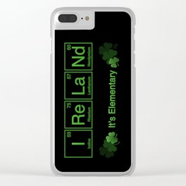 Ireland - It's Elementary Clear iPhone Case