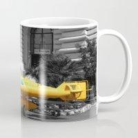 yellow submarine Mugs featuring yellow submarine  by 33bc
