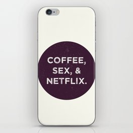 Life Goals iPhone Skin