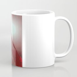 FX#412 - Red Pyramid Bright Coffee Mug