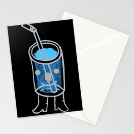 i'm a fancy beverage. Stationery Cards