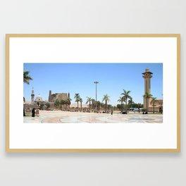 Temple of Luxor, no. 17 Framed Art Print
