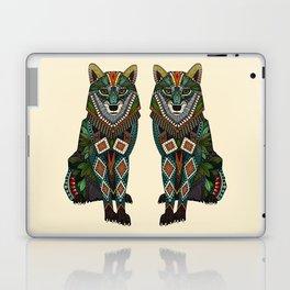 wolf ivory Laptop & iPad Skin